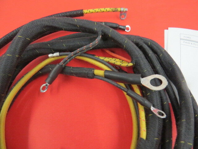 NEW 1937 Ford original type dash wiring harness | Early ...